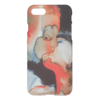 Close-up Kiss 1988 iPhone 7 Case