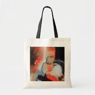 Close-up Kiss 1988 Tote Bag