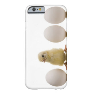 Close-up of a baby chick with three eggs barely there iPhone 6 case
