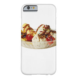 Close-up of a banana split barely there iPhone 6 case