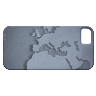 Close-up of a blue globe showing North Africa, Barely There iPhone 5 Case
