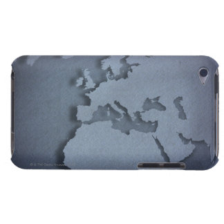 Close-up of a blue globe showing North Africa, iPod Touch Cover