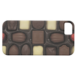 close-up of a box of assorted chocolates iPhone 5 case