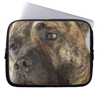 Close-up of a Boxer Laptop Sleeve