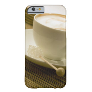 Close-up of a cup of coffee with a candy barely there iPhone 6 case