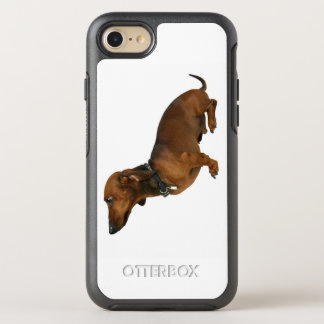 Close up of a dachshund OtterBox symmetry iPhone 7 case
