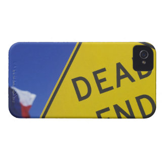 Close-up of a dead end sign, Texas, USA iPhone 4 Case
