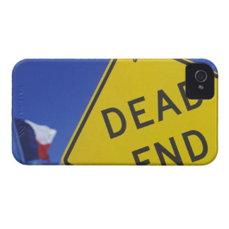 Close-up of a dead end sign, Texas, USA iPhone 4 Cases