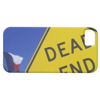 Close-up of a dead end sign, Texas, USA iPhone 5 Cover