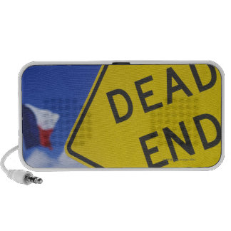 Close-up of a dead end sign, Texas, USA Mini Speakers