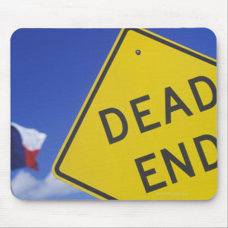 Close-up of a dead end sign, Texas, USA Mouse Mat