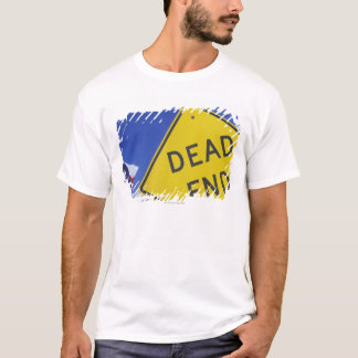 Close-up of a dead end sign, Texas, USA T-Shirt