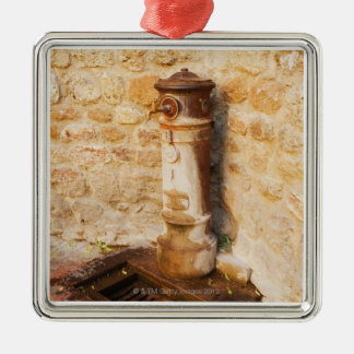 Close-up of a faucet, Siena Province, Tuscany, 2 Christmas Ornament