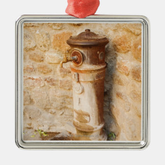 Close-up of a faucet, Siena Province, Tuscany, Christmas Ornament