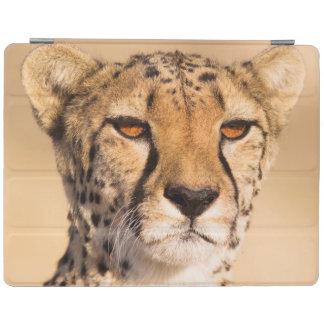 Close-up of a female iPad cover