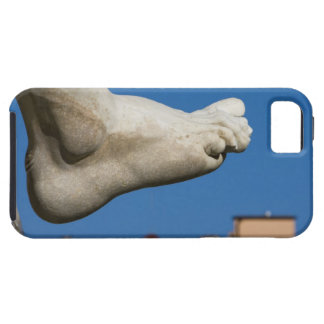 close-up of a foot on the Fontana dei Quatro iPhone 5 Covers