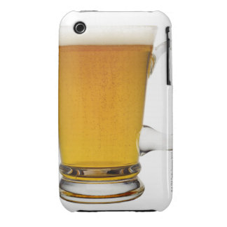Close up of a glass of beer 2 iPhone 3 covers