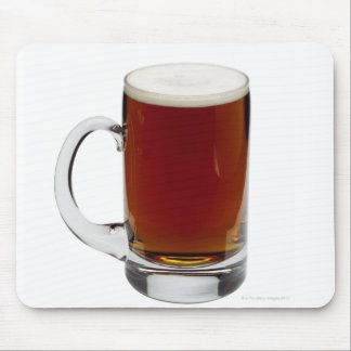 Close up of a glass of beer 3 mouse pad