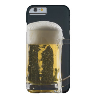 Close-up of a glass of beer barely there iPhone 6 case