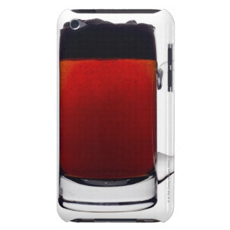 Close up of a glass of beer barely there iPod case