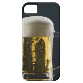 Close-up of a glass of beer case for the iPhone 5