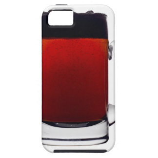 Close up of a glass of beer tough iPhone 5 case