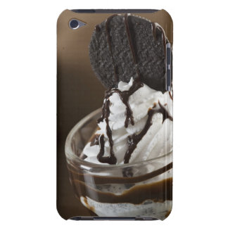 Close-up of a glass of chocolate sundae iPod Case-Mate cases
