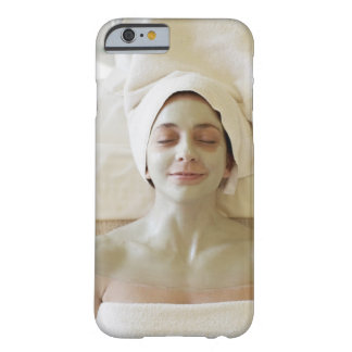 Close-up of a mid adult woman having a facial barely there iPhone 6 case