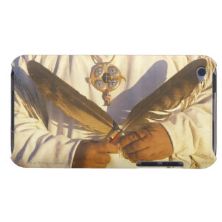 'Close-up of a Native American holding iPod Touch Case