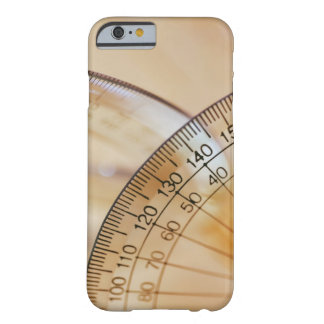 Close-up of a protractor barely there iPhone 6 case
