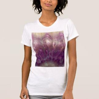 Close up of a purple Amethyst T-Shirt