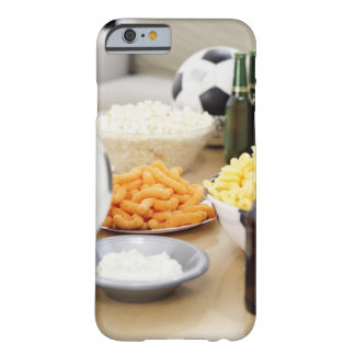 close-up of a remote control with beer bottles barely there iPhone 6 case