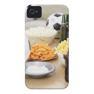 close-up of a remote control with beer bottles Case-Mate iPhone 4 case