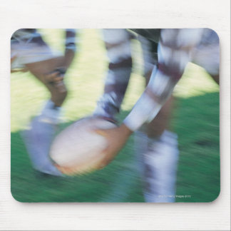 Close up of a Rugby Union Player Passing The Mouse Mat