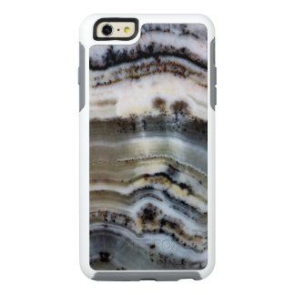 Close up of a Silver Lace Onyx OtterBox iPhone 6/6s Plus Case