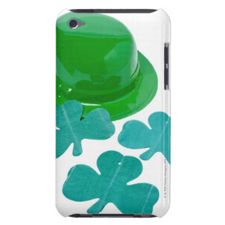 close-up of a St. Patrick's day hat and shamrock iPod Touch Case-Mate Case