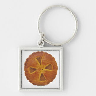 Close-up of a tart key ring