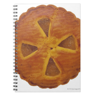Close-up of a tart notebooks