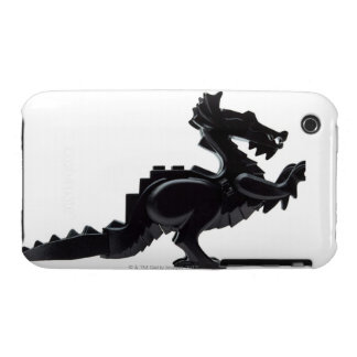 close-up of a toy dragon iPhone 3 cover