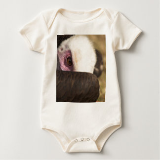 Close up of a Vulture Creeper/Babygro Baby Bodysuit
