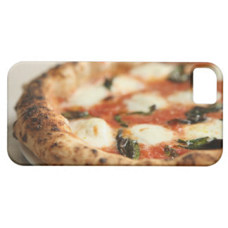 Close-up of a whole pizza pie barely there iPhone 5 case