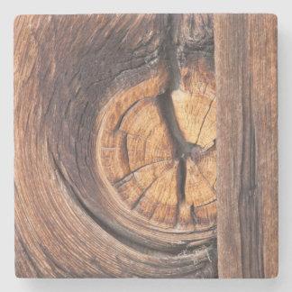 Close up of a wood knot, California Stone Coaster