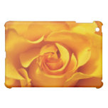 Close Up of a Yellow Rose iPad Mini Cases