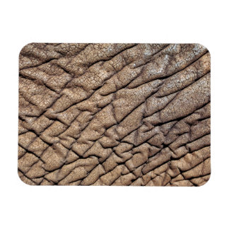 Close-Up Of African Elephant s Hide Rectangle Magnets