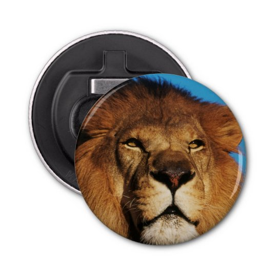 Close-up of African Lion Bottle Opener