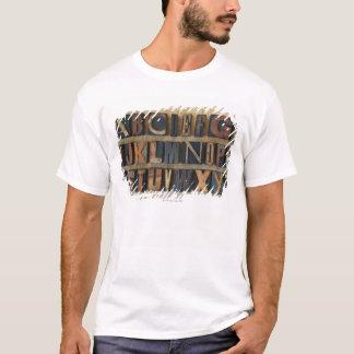 Close up of alphabet on letterpress 2 T-Shirt