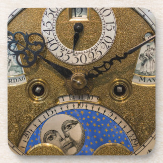 Close up of an old clock, Germany Coaster