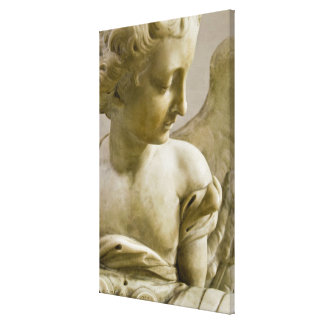 close-up of angel in Santa Maria degli Angeli Stretched Canvas Prints