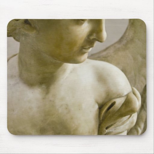 close-up of angel in Santa Maria degli Angeli Mouse Pads