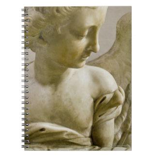close-up of angel in Santa Maria degli Angeli Notebooks